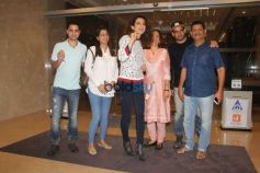 Kangana With Family Spotted At Yauatcha Bandra BKC
