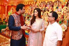 Katrina Kaif At Kalyan Jewellery Navratri Celebrations, In Kerala