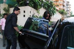Priyanka Chopra Spotted At Dilip Kumar House