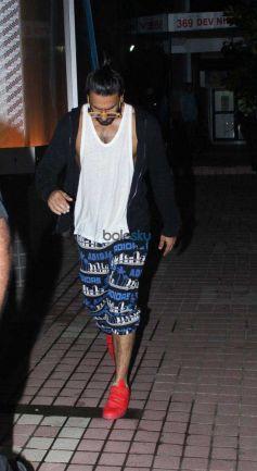 Ranveer Singh Spotted At Gym