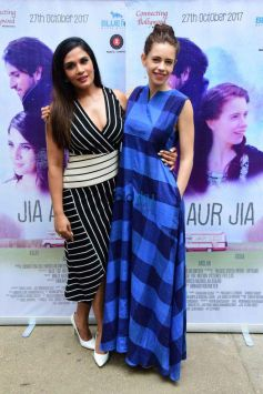 Richa Chadda And Kalki Koechlin At Trailer Launch Of Film 'Jia Aur Jia'
