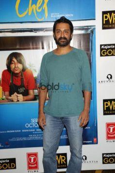 Saif Ali Khan , Padmapriya Janakiraman And Director Raja Krishna Menon Promoted Chef In New Delhi