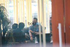 Sanjay Dutt,Kangana Ranaut,Saif Ali Khan,Aditya Roy Kapoor Spotted At Bandra