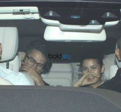 Shahid Kapoor And Mira Rajput Spotted At Karan Johar House