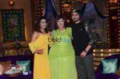Shilpa Shetty With Family On First Day Of Shoot With New Show Aunty Boli Lagao Boli