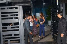 Shilpa Shetty With Friends Spotted At Yauatcha Restaurant In Mumbai