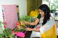 Sonali Kulkarni Ganesh Pooja