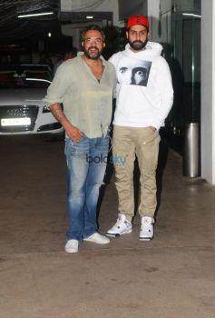 Special Screening Of Haseena Parkar At Sunny Super Sound For Abhishek Bachchan