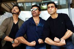 Sunny Deol, Bobby Deol and Shreyas Talpade Promotes Poster Boys In New Delhi