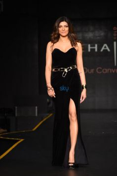 Sushmita Sen At Launch Of American Hair Color Brand MOEHAIR, In New Delhi