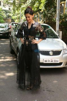 Taapsee Pannu At Indigo Restaurant For Interviews