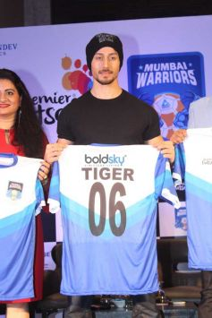 Tiger Shroff At Futsal Launch