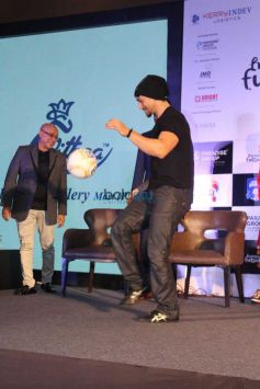 Tiger Shroff At Futsal Launch