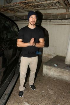 Tiger Shroff Spotted At Juhu PVR Mumbai