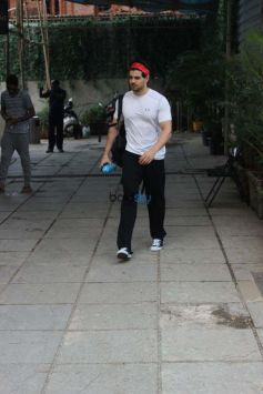Sooraj Pancholi Snapped And Sophie Choudry Snapped In Mumbai
