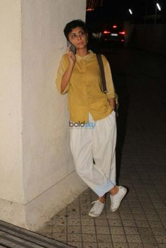 Aamir Khan And Kiran Rao Spotted At PVR