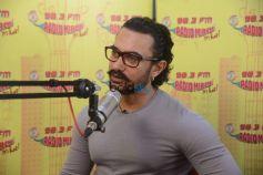 Aamir Khan At Radio Mirchi Promoting Secret Superstar