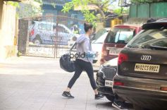 Alia Bhatt Spotted At Gym