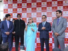 Amitabh Bacchan And Jaya Bacchan At Launch Of Kalyan Jewellers Store In Bhopal