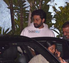 Amitabh Bachchan,Jaya Bachchan And Navya Nanda Back In The City After Vacationing In Maldives