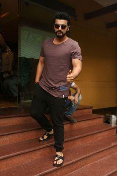 Arjun Kapoor And Tusshar Kapoor Spotted At Yashraj Studio