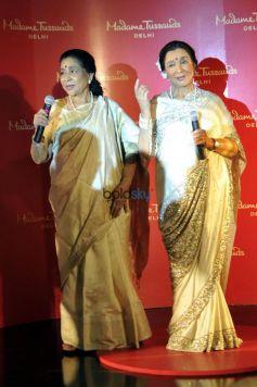 Asha Bhosle Unveiling Asha Bhosle Madame Tussauds , In New Delhi