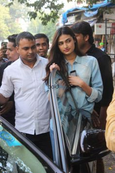 Athiya Shetty Spotted At Sequel Cafe Bandra