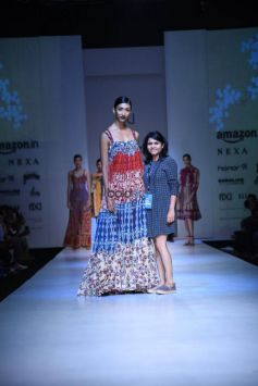 Bhanuni By Jyoti At Amazon India Fashion Week In New Delhi