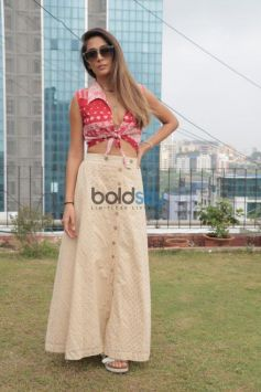Bollywood Actress Monica Dogra Spotted Post Interviews