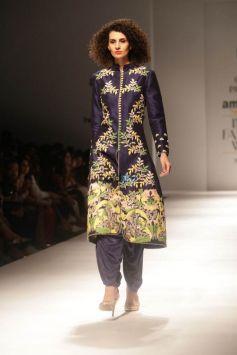Charu Parashar Show And Divya Khosla Kumar Showstopper At Amazon India Fashion Week In New Delhi