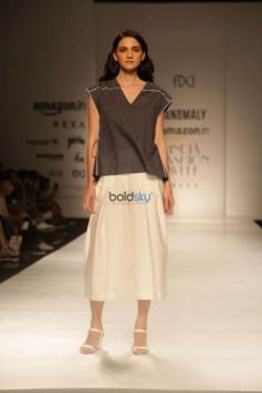 Designer Anomaly  At Amazon India Fashion Week In New Delhi