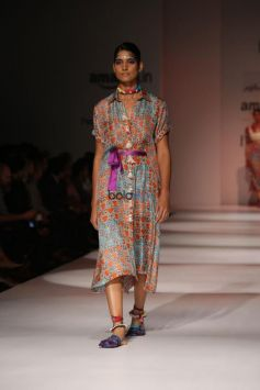 Designer Anupama Dayal At Amazon India Fashion Week, In New Delhi