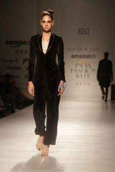 Designer Ashish And Soni At Amazon India Fashion Week In New Delhi
