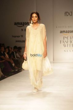 Designer Kavita Bhartia At Amazon India Fashion Week In New Delhi