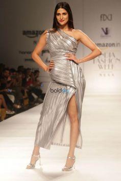 Designer Nikhita  At Amazon India Fashion Week In New Delhi