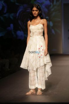 Designer Pratima  At Amazon India Fashion Week In New Delhi
