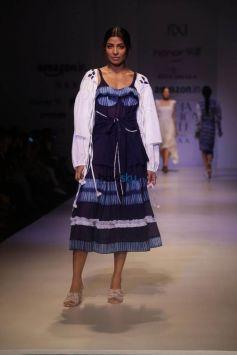 Designer Rina Dhaka At Amazon India Fashion Week In New Delhi