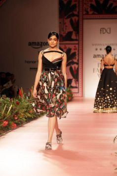 Designer Shivan And Naresh At Amazon India Fashion Week In New Delhi