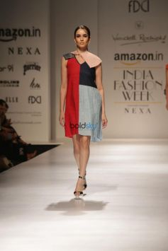 Designer Wendell Rodricks  At Amazon India Fashion Week, In New Delhi