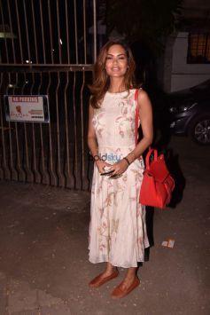 Esha Gupta Spotted At SPA