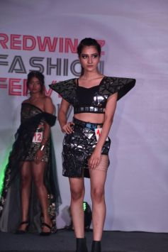 Gauhar Khan At Redwingz Fashion Fervent 2017