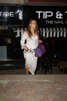 Iulia Vantur Spotted After Salon Session