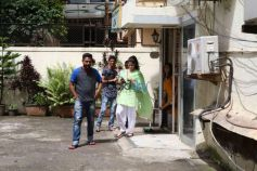 Jhanvi Kapoor Spotted At Dance Studio