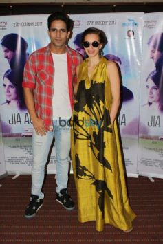 Kalki koechlin And Richa Chadda At Raheja Classic