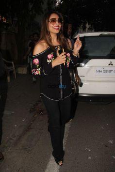 Karan Singh Grover And Bipasha Basu Spotted At Indigo