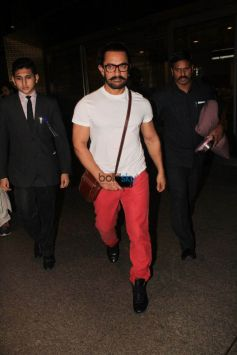 Katrina Kaif,Aamir Khan And Others Spotted At Airport