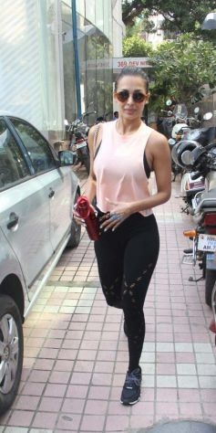Malaika Arora Spotted After Gym Session