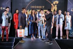 MODEL,ACTRESS,PRESENTER KARISHMA KOTAK FELICITATES INTREND FASHION SHOW WINNERS
