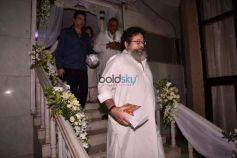 Prayer Meet Of Ram Mukherjee Father Of Rani Mukerji At Iskon Temple