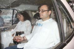 Rani Mukerji,Aamir Khan And Others Attend Ram Mukherjee Funeral At Pawan Hans
